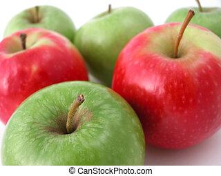frais, croquant, pommes