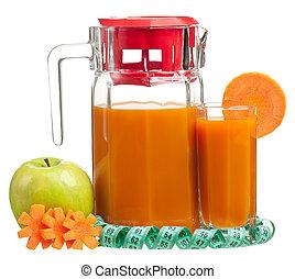 frais, jus carotte