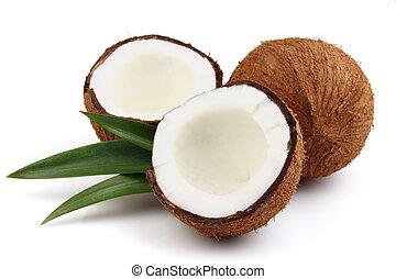 frais, noix coco