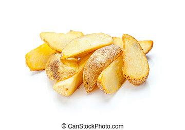 frais, pommes terre rôtis