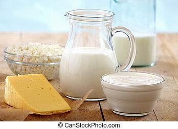 frais, produits laitiers