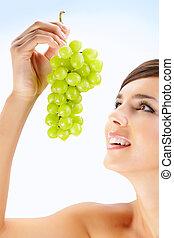 frais, raisin