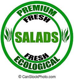frais, salades