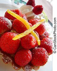 fraise, dessert