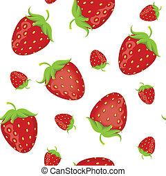 fraise, seamless