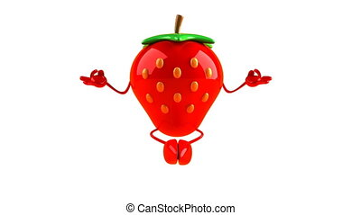 fraise, zen