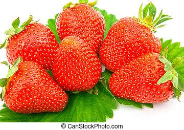 fraises, baie