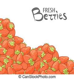 fraises fraîches, choix