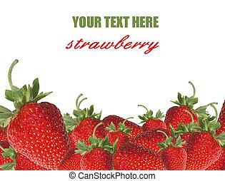 fraises, frontière