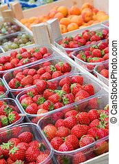 fraises, vente