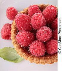 framboesa, fruta azedo