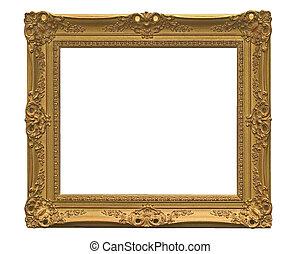 frame, afbeelding, empthy