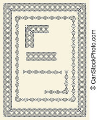 Frame and border elements