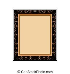 frame, artistiek, pictogram
