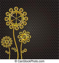 golden gear flowers