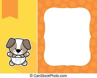 frame baby dog