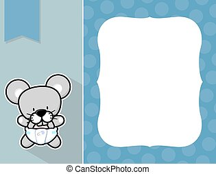 frame baby mouse