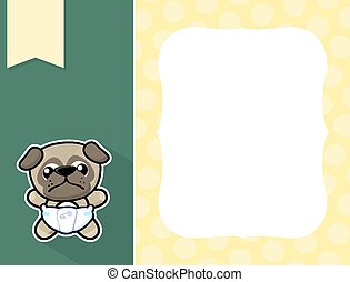frame baby pug