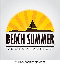 frame beach summer