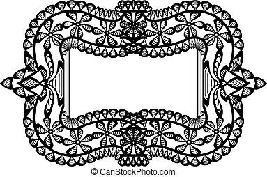 frame, black , kant