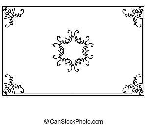 Frame Border Design Vector Art