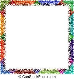 frame, colorfull
