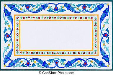 frame, decoratief