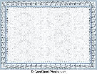 frame, diploma, certificaat