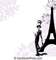 Frame fashion, beauty, Paris