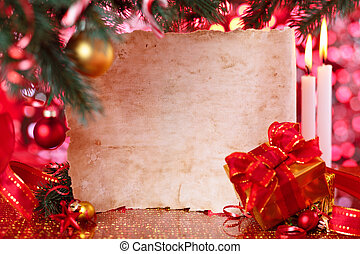 Frame for Christmas day.