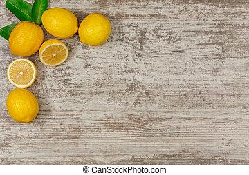 Frame from lemons