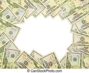 frame, geld