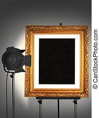 frame, getoonde