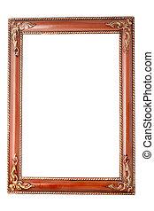 frame, goud