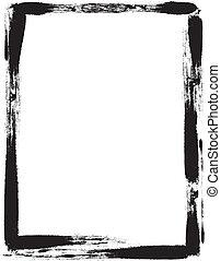 frame, grunge