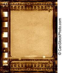 frame, grunge, film