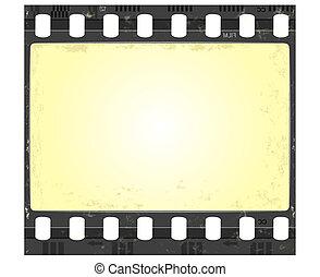 frame, grunge, stijl, film