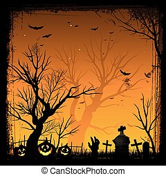 frame, halloween