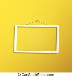 frame, hangend