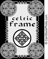 Frame in Celtic style