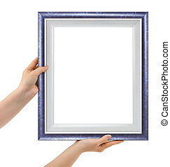 Frame in hands
