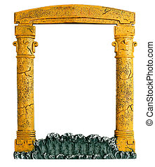 frame in the form of an arch