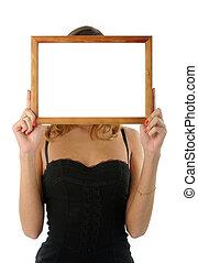 Frame instead of head