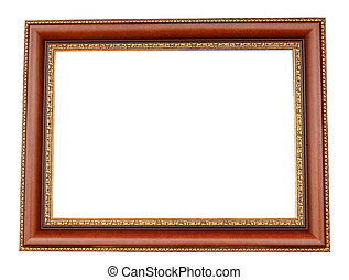 frame isolated on a white background