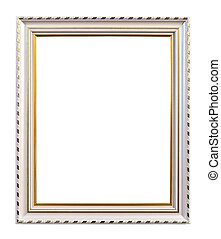 frame isolated with clipping path