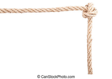 frame knot rope