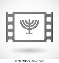 frame, kroonluchter, 35mm, vrijstaand, film