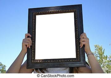 frame, lege