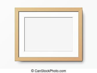 frame., legno, vettore