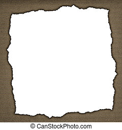 Frame made of weathered sepia background with verticall stripes